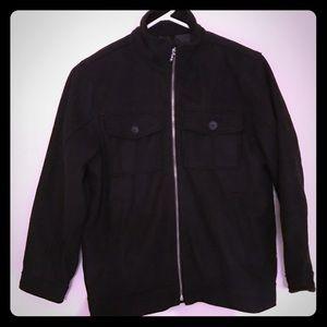 Like New!!! OLD NAVY Black Boys Wool Coat